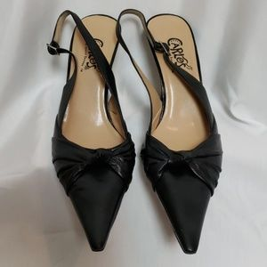 Carlos Santana Leather Heels